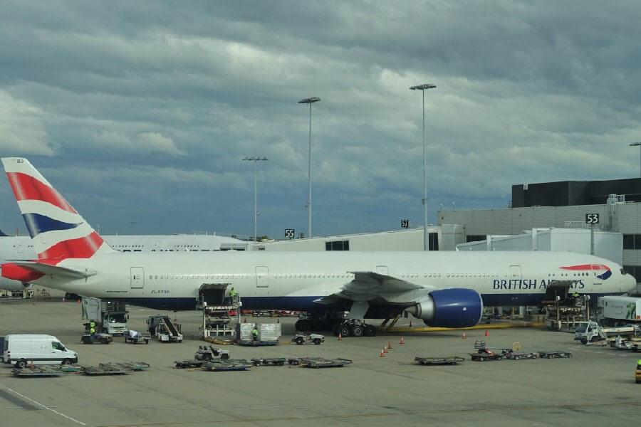 British Airways Business Class review British Airways Club world British Airways 777