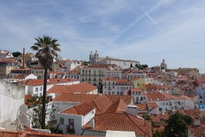 Rooftop view of the Alfama Exploring the Alfama: a fishing village in Lisbon