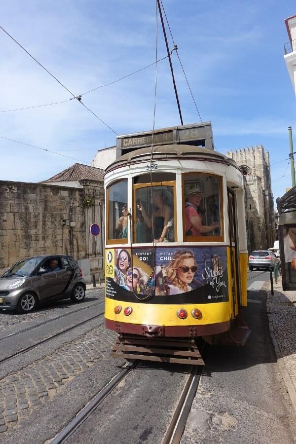 Lisbon historic tram Exploring the Alfama: a fishing village in Lisbon