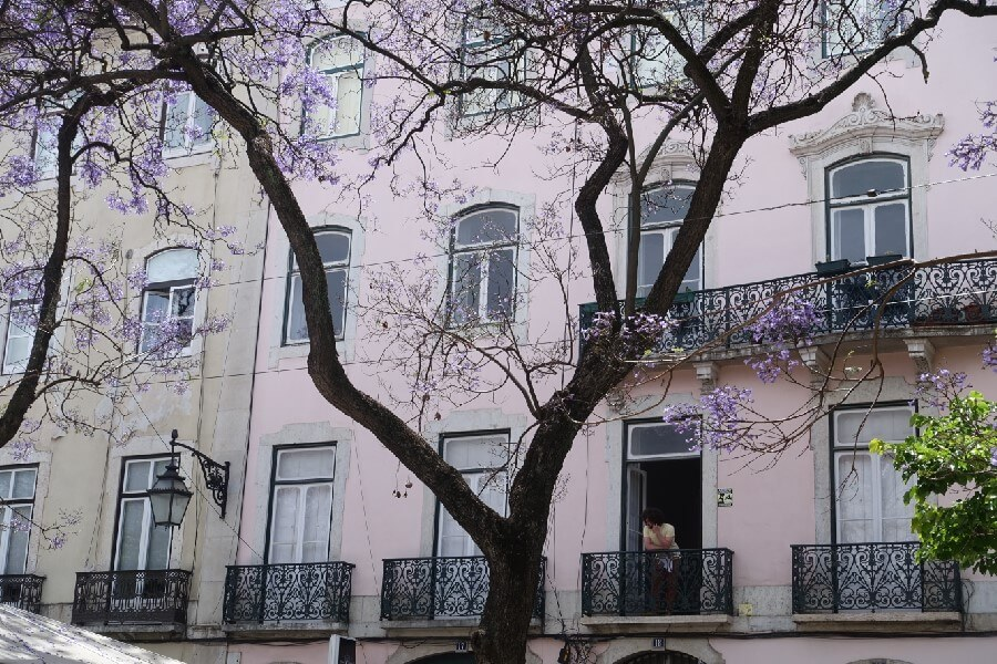 Largo do Carmo Lisbon Portugal Best things to do in Lisbon in 48 hours frugal first class travel