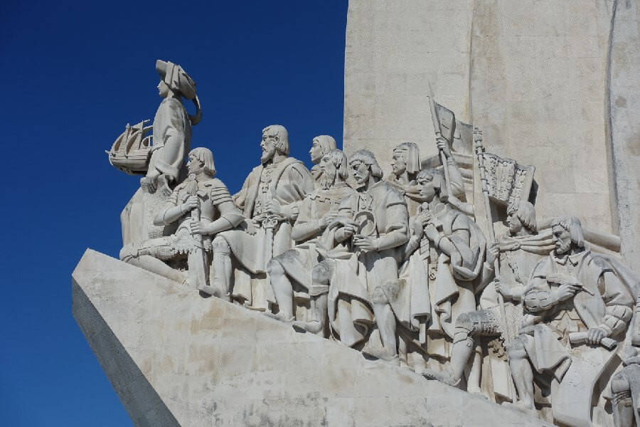 Monument to the Discoveries in Belem Best things to do in Lisbon in 48 hours