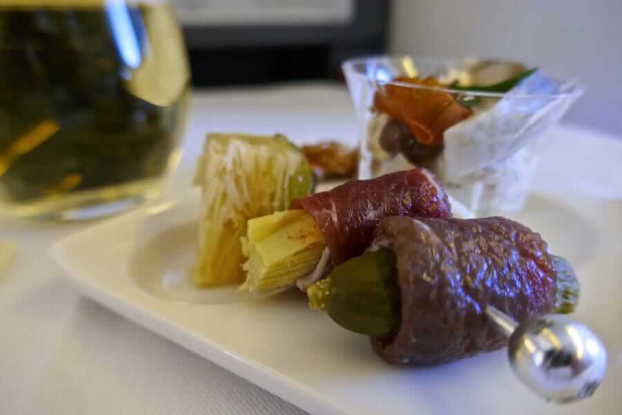 Nomadic-Boys-Amuse-Bouche-on-ANA-business-class