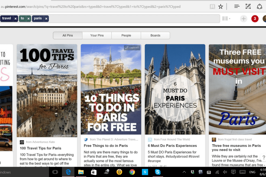 How to search on Pinterest Use Pinterest to plan your vacation: a beginner's guide