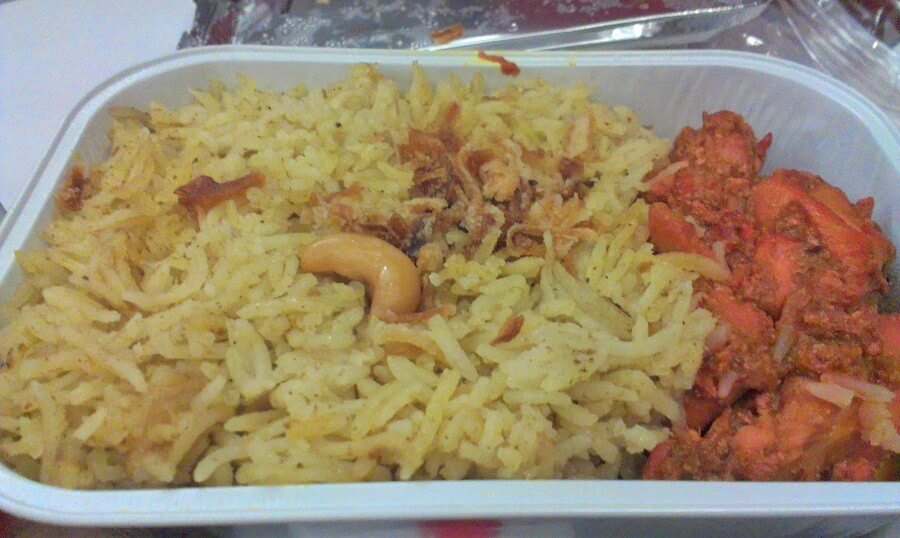 Air Asia in flight meal Around the world in 10 airline meals frugal first class travel