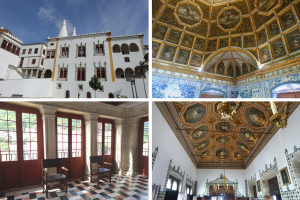 Inside the National Palace Sintra, The castles of Sintra: the best day trip from Lisbon frugal first class travel