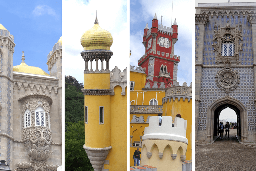 Pena Palace Sintra, The castles of Sintra: the best day trip from Lisbon frugal first class travel