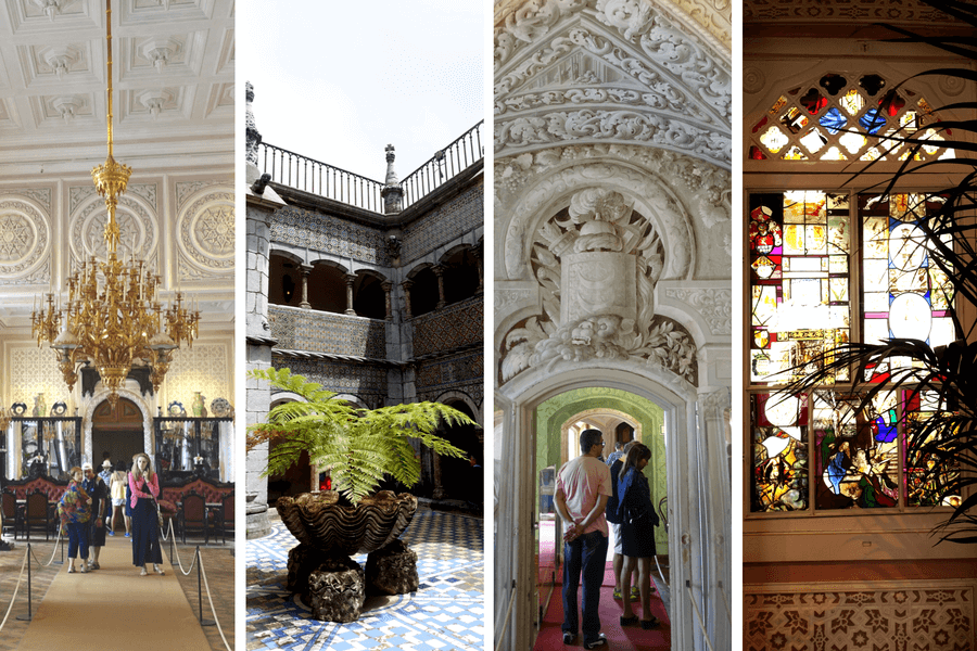 Interiors of the Pena PalaceThe castles of Sintra: the best day trip from Lisbon frugal first class travel