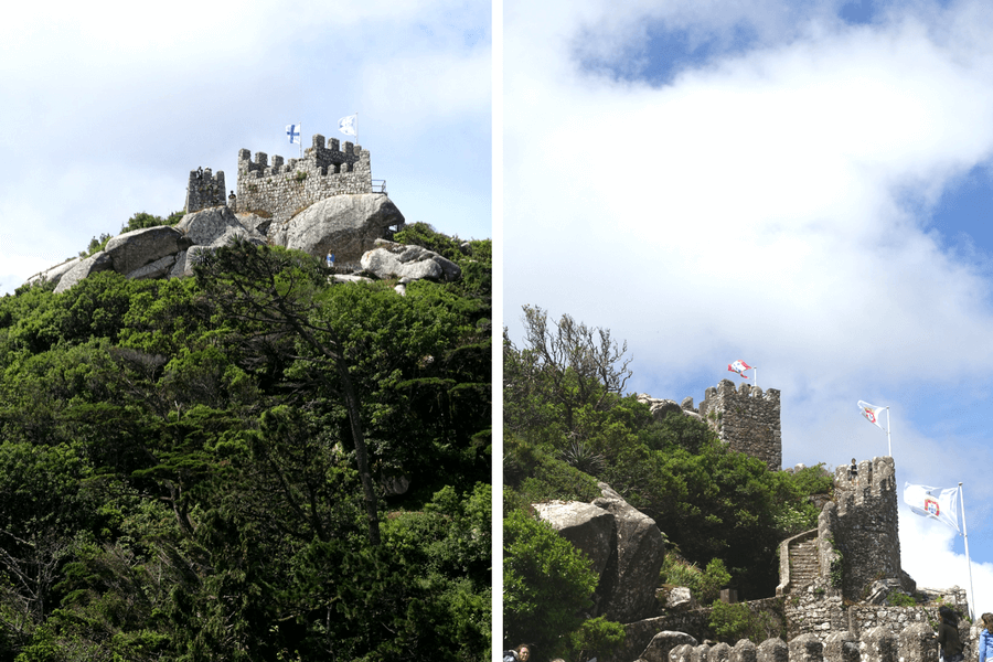 Moorish Castle Sintra The castles of Sintra: the best day trip from Lisbon frugal first class travel