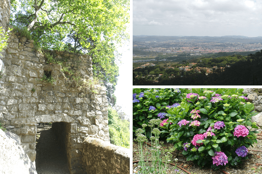 Gardens of the Moorish Castle Sintra, The castles of Sintra: the best day trip from Lisbon frugal first class travel