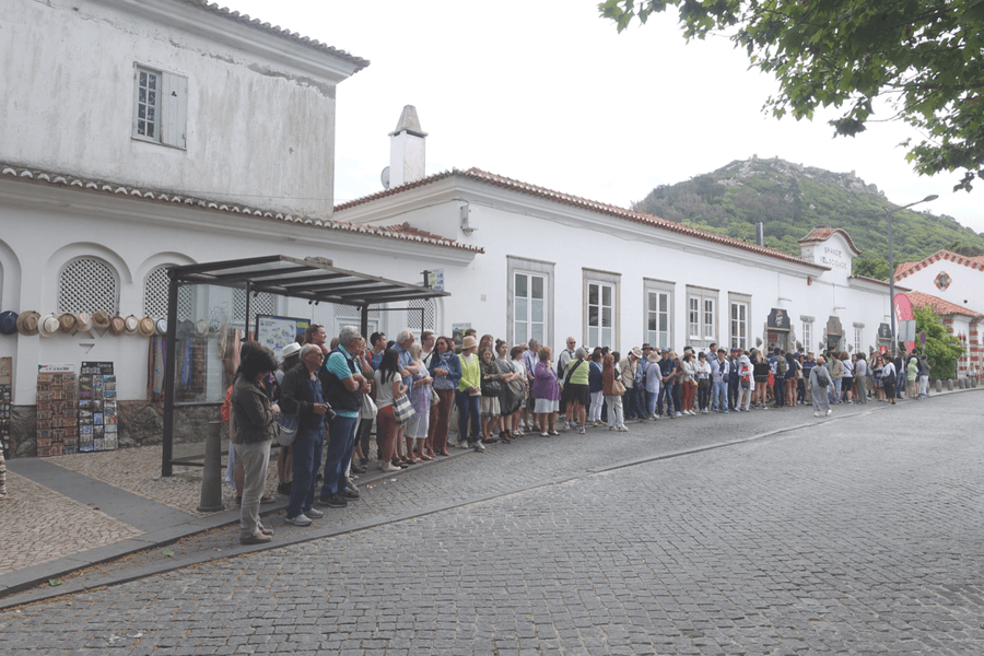Catch the bus at Sintra station The castles of Sintra: the best day trip from Lisbon