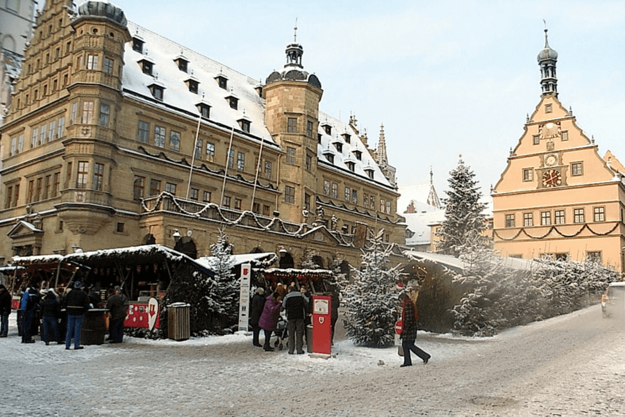 Planning a trip to Europe: where to start Christmas market in Rothenburg Germany
