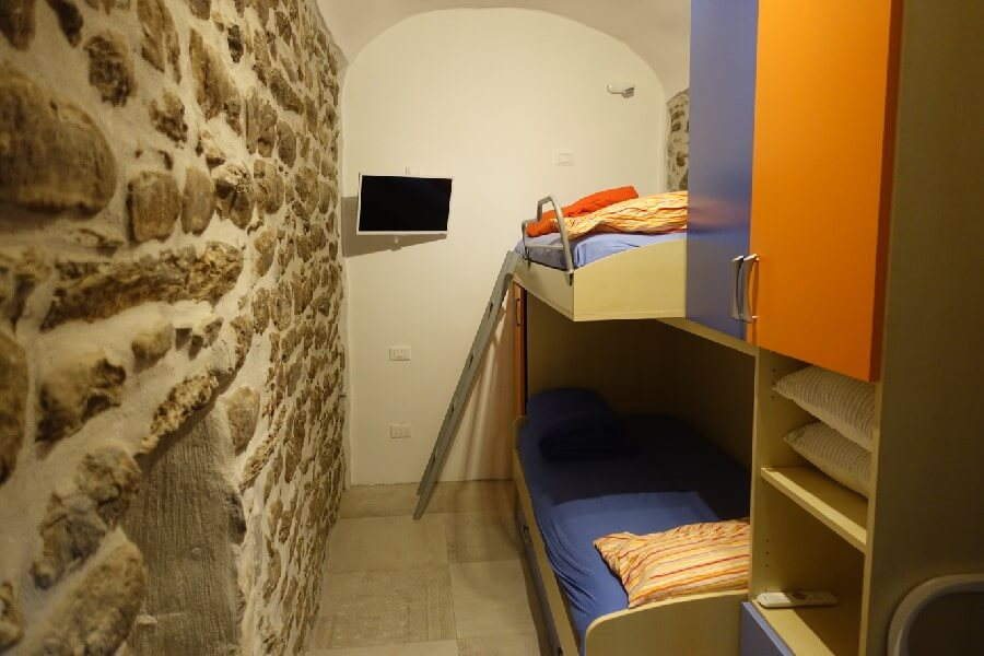 Bunk beds liguria holiday homes Pigna