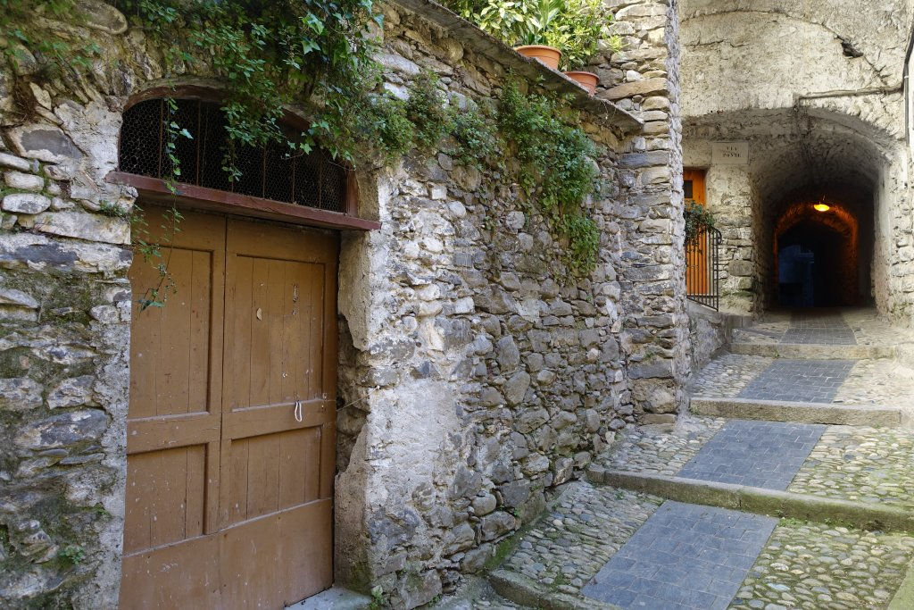 alleyways of Pigna, Liguria, italy Living like a queen at Liguria Holiday Homes in Pigna, Italy