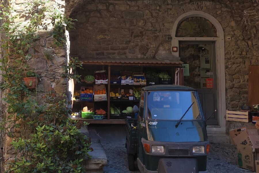 Shop in Castellvittoria Liguria Italy, Cinque Valli Italy, the new Cinque Terre