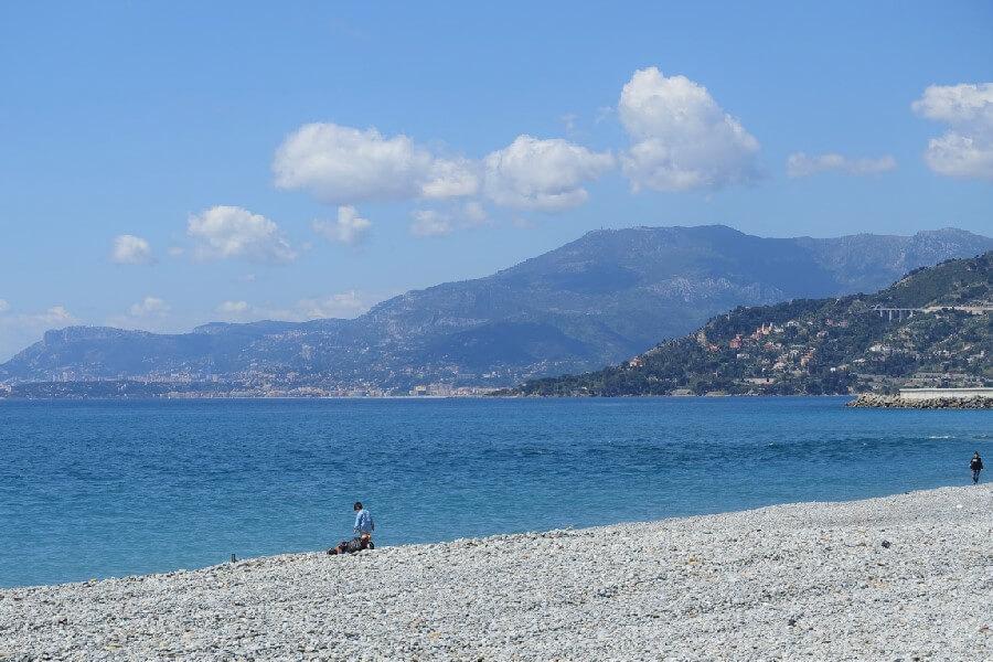 Beach at Ventimiglia Liguria Italy Cinque Valli Italy, the new Cinque Terre