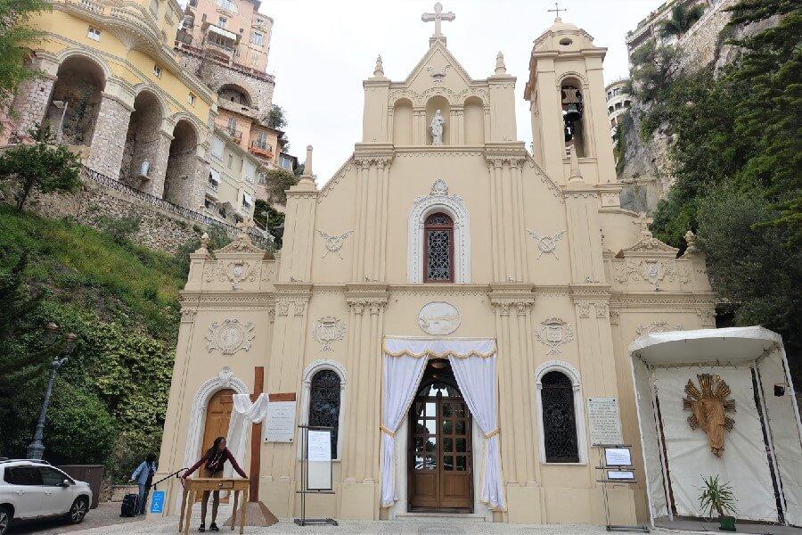 Ste Devote Abbey in Monaco