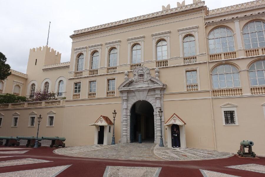 Entrance to the Monaco Royal Palace