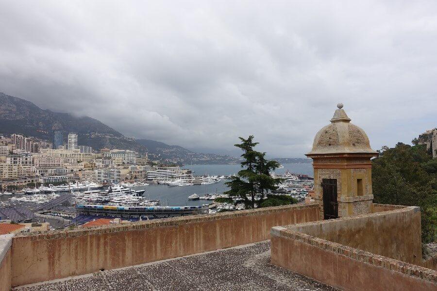 View of Monaco and Monte-Carlo