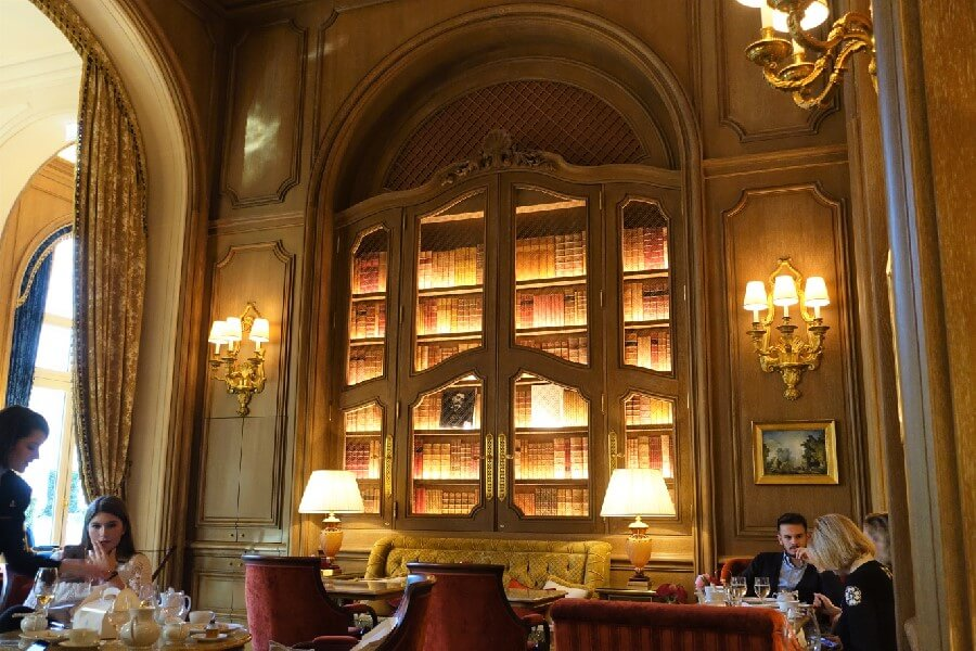 Salon Proust Ritz Hotel Paris