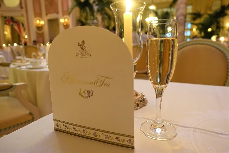 Ritz Hotel London afternoon tea menu Afternoon tea at the Ritz London