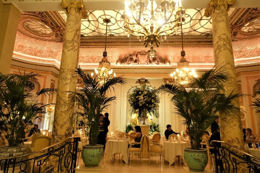 Palm Court Restaurant Ritz Hotel London