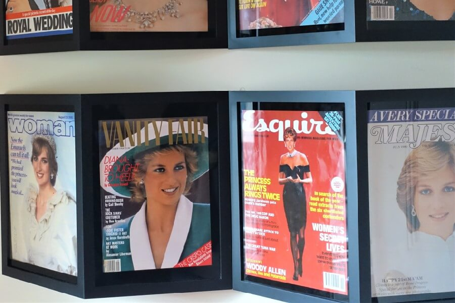 magazine covers Princess Diana