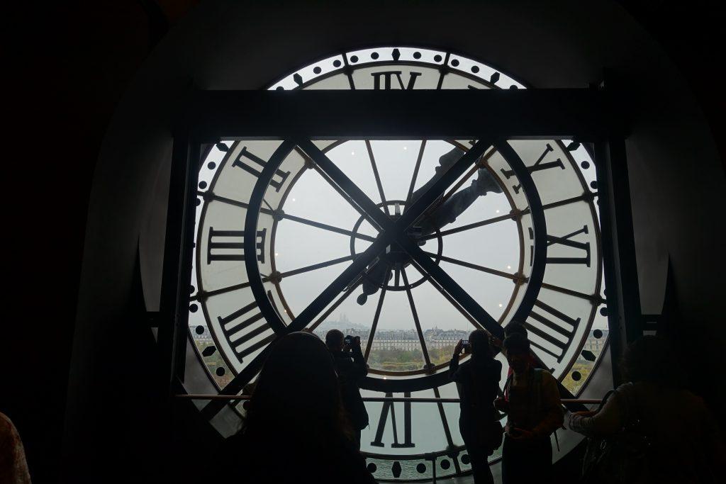 Musee d'Orsay clock, Musee d'Orsay interior