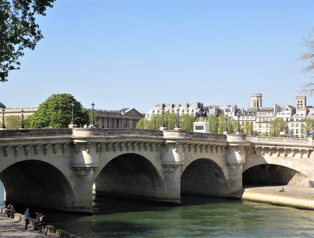 River Seine bridge Paris, Pont Neuf Paris