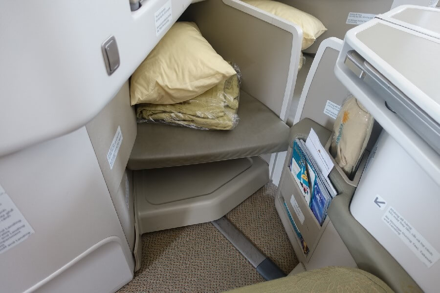 Vietnam Airlines Business Class seat 787