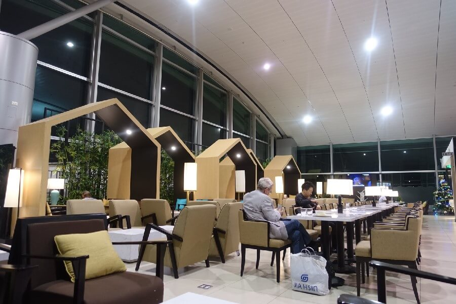 Vietnam Airlines Lounge Ho Chi Minh City Saigon