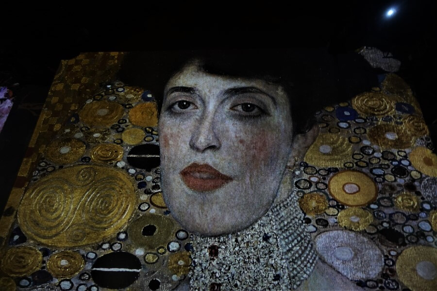 Current Paris exhibitions: the Klimt exhibition Paris Gustav Klimt Portrait of Adele Bloch Bauer