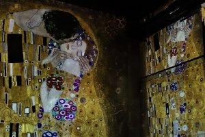 Current Paris exhibitions: the Klimt exhibition Paris The Kiss Gustav Klimt