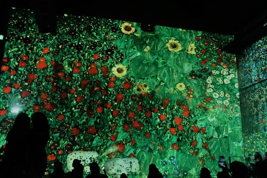 Current Paris exhibitions: the Klimt exhibition Paris Gustav Klimt Field of Poppies