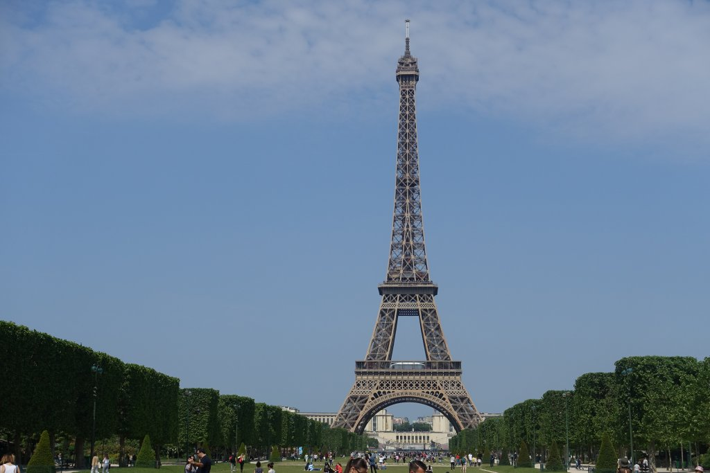 Eiffel Tower Champs de Mars Your Paris itinerary: plan your three day trip to Paris