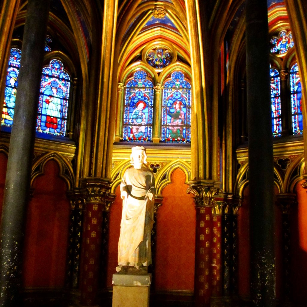 Inside of Ste Chappelle Your Paris itinerary: plan your three day trip to Paris