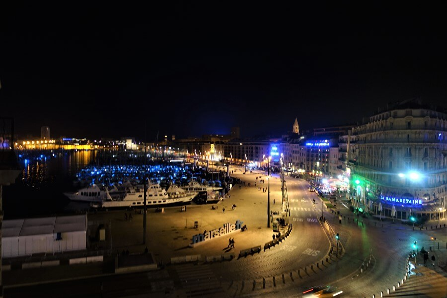 Marseille Vieux Port at night Is Marseille worth visiting? Things to do in Marseille