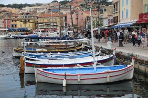 Cassis harbour with traditional fishing boats Is Marseille worth visiting? Things to do in Marseille