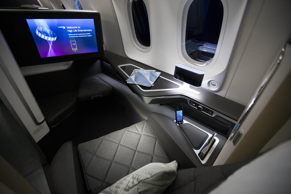 British Airways First Class Review: British Airways 787 Dreamliner Review British Airways 787 Dreamliner First Class seat