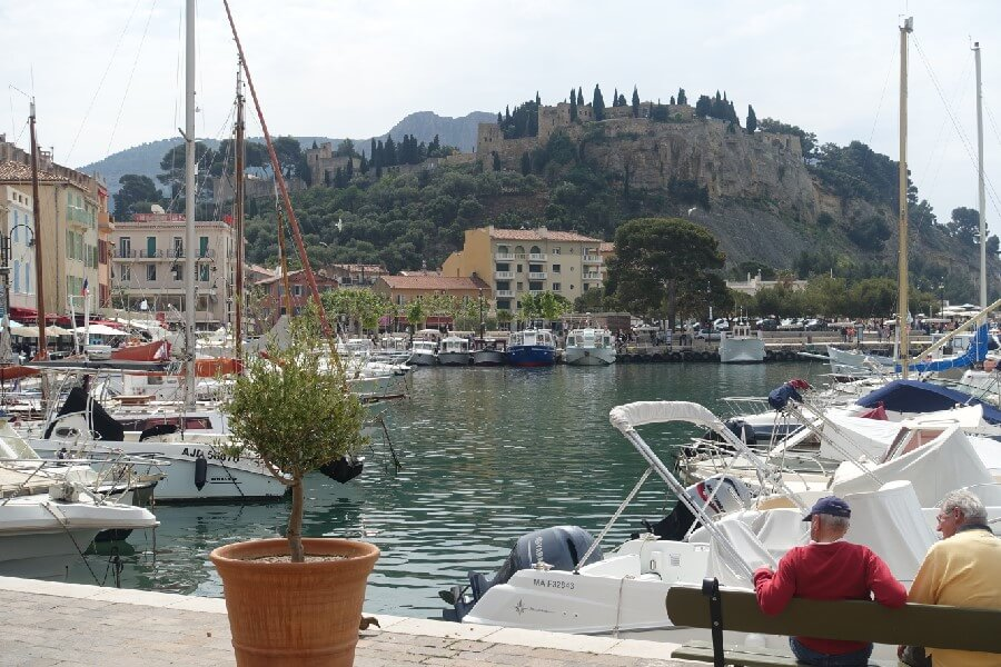 French Riviera travel: a day trip to Cassis View from Cassis harbour