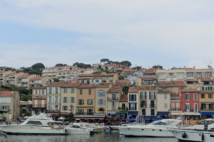 Cassis harbour French Riviera travel: a day trip to Cassis