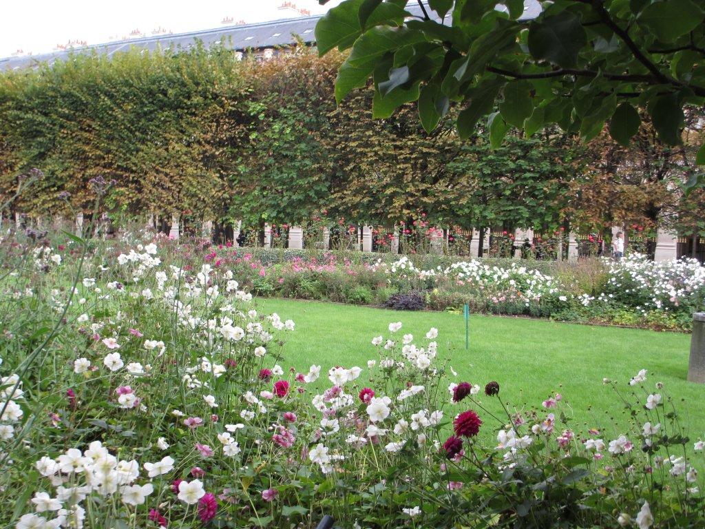 Palais Royale garden in Paris