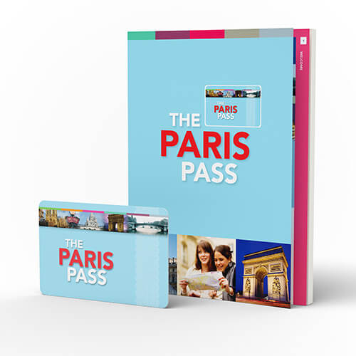 Paris Pass Card and Pass Pass Guide book
