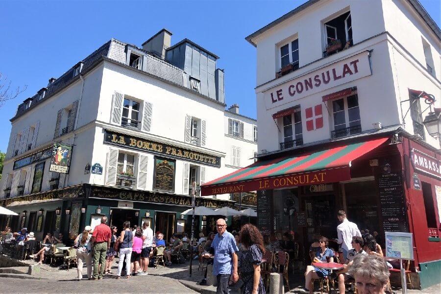 Le Consulat restaurant Montmartre