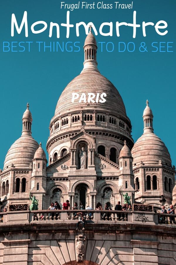 Montmartre Pinterest pin