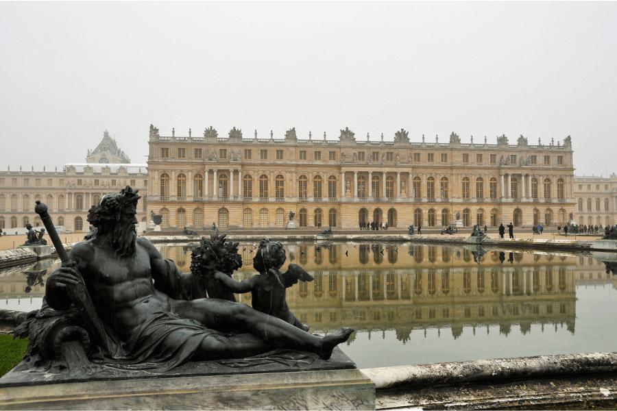 Exterior of Versailles Palace Versailles gardens Chateau de Versailles Palace of Versailles