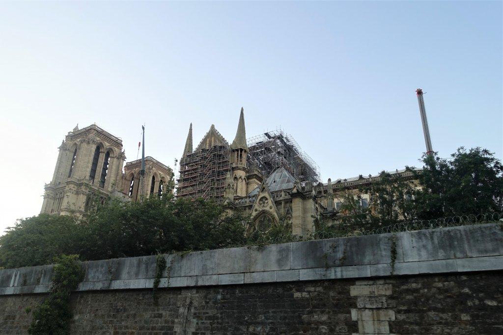 Fire damage at Notre Dame