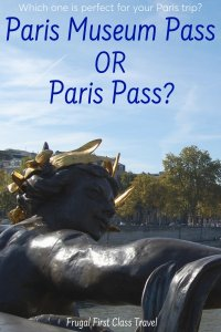 Buy Paris Pass or Paris Museum Pass