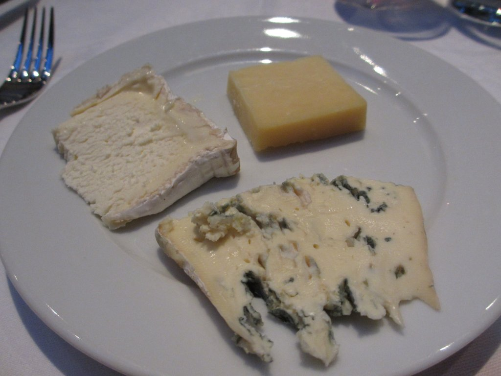 plate of different types of French chees