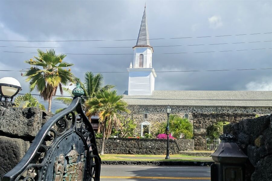 The Mokuaikaua Church Kailua-Kona; historic church Hawaii