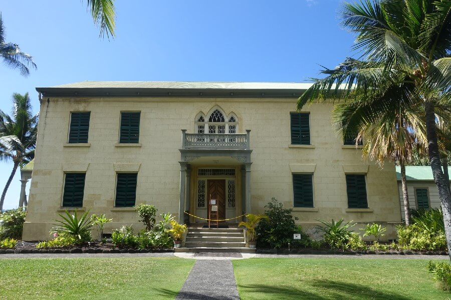 Palace Big Island Hawaii